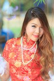Mujer china atractiva Imagenes de archivo