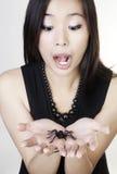 Mujer china joven imágenes de archivo libres de regalías