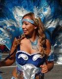 Mujer colorida de Latina Foto de archivo libre de regalías