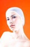 Mujer con el pelo cubierto - 2 Fotografía de archivo libre de regalías