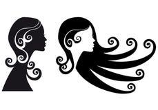 Mujer con estilo ilustración del vector