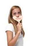Mujer con la cara triste Imagenes de archivo