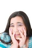 Mujer con la depresión Fotografía de archivo libre de regalías