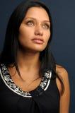 Mujer con la mirada atractiva Imagen de archivo libre de regalías