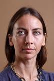 Mujer con los ojos hermosos foto de archivo