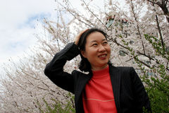 Mujer coreana fotografía de archivo libre de regalías