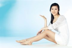 Mujer coreana Foto de archivo