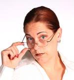 Mujer corporativa Fotografía de archivo libre de regalías