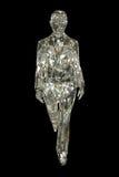 Mujer cristalina Imagen de archivo libre de regalías