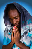 Mujer cristiana africana Imagen de archivo