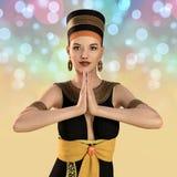 mujer 3D en el traje de Cleopatra libre illustration