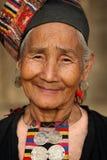Mujer de Akha, Phongsaly, Laos Imágenes de archivo libres de regalías