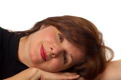 Mujer de descanso imágenes de archivo libres de regalías
