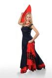 Mujer de Flamenko Foto de archivo