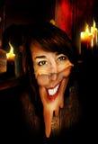 Mujer de fusión Foto de archivo libre de regalías