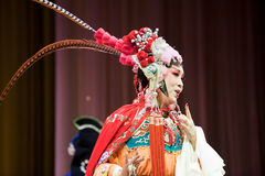 Mujer de la ópera de China Imágenes de archivo libres de regalías