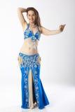 Mujer de la bailarina de la danza del vientre Imagen de archivo libre de regalías