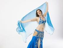 Mujer de la bailarina de la danza del vientre Fotos de archivo libres de regalías