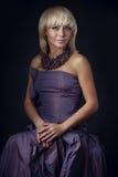 Mujer de la belleza fotografía de archivo