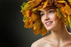 Mujer de la belleza Imagen de archivo libre de regalías