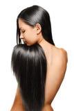 Mujer de la belleza. pelo largo Foto de archivo libre de regalías