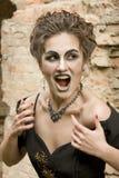 Mujer de la bruja Foto de archivo