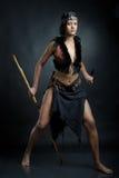 Mujer de la bruja Foto de archivo libre de regalías