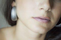 Mujer de la cara Foto de archivo libre de regalías