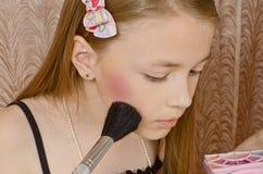 Mujer de la chica joven de la moda Imagen de archivo libre de regalías