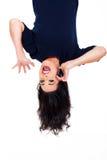 Teléfono móvil upside-down Fotos de archivo