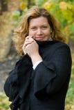 Mujer de la Edad Media Fotografía de archivo