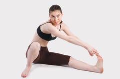 Mujer de la elasticidad Imágenes de archivo libres de regalías