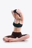 Mujer de la elasticidad Fotografía de archivo libre de regalías