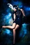 Mujer de la fantasía Fotos de archivo