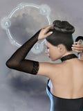 Mujer de la fantasía Fotos de archivo libres de regalías