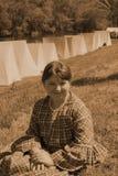 Mujer de la guerra civil Imagen de archivo libre de regalías
