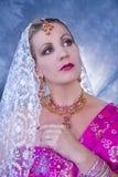 Mujer de la India Imagen de archivo libre de regalías