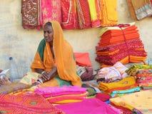 Mujer de la India Foto de archivo libre de regalías