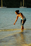 Mujer de la isla Imagen de archivo