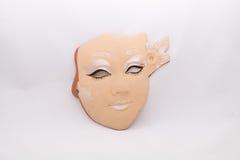 Mujer de la máscara Imagenes de archivo