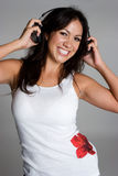 Mujer de la música del Latino Fotografía de archivo libre de regalías