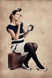Mujer de la manera fotografía de archivo