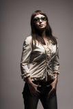 Mujer de la manera en gafas de sol Fotografía de archivo libre de regalías