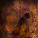 Mujer de la meditación Fotografía de archivo