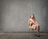 Mujer de la moda Imagen de archivo libre de regalías