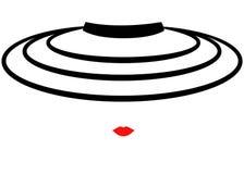 Mujer de la moda del logotipo de la tienda Compañía Logo Design Imagenes de archivo
