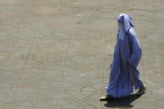 Mujer de la muselina Imagen de archivo