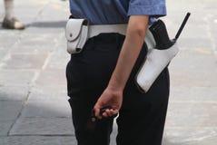 Mujer de la policía fotos de archivo libres de regalías