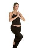 Mujer de la yoga Fotos de archivo libres de regalías