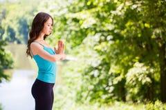 Mujer de la yoga Imagen de archivo